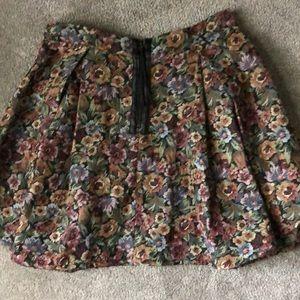BCBGeneration Skirts - Floral Skirt- Size Medium